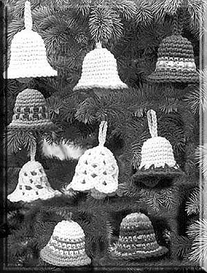 FREE CHRISTMAS CROCHET BELL PATTERN | Crochet and Knitting